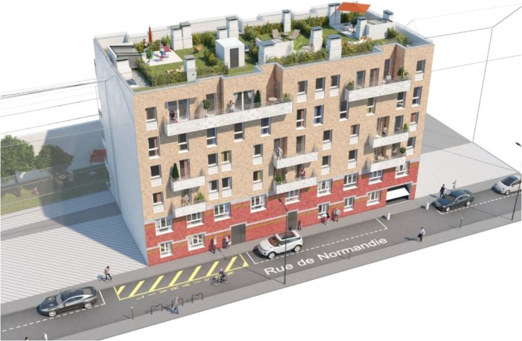 Programme neuf Appartement Courbevoie 92400